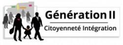 Logo génération II, citoyenneté et intégration