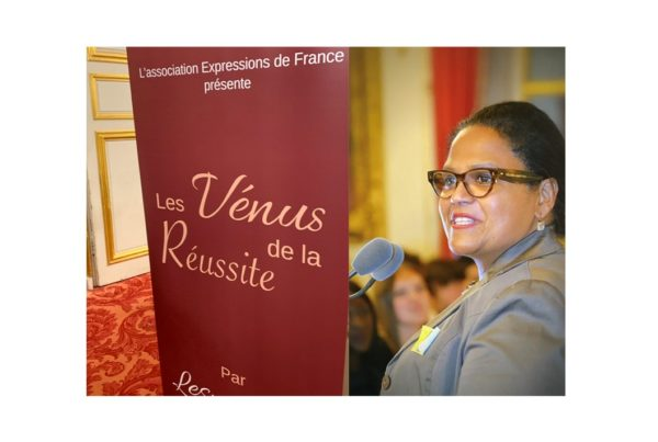 Les Vénus de la Réussite décerne son prix coup de cœur à Rosie Bordet