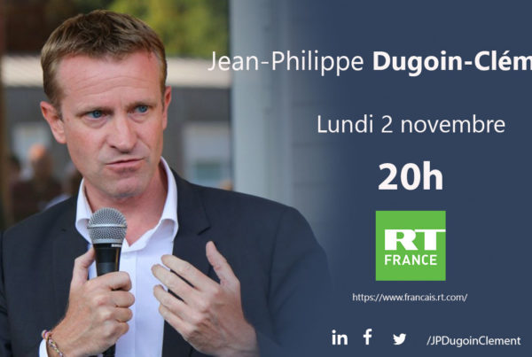 Jean Philippe Dugoin Clément invité de RT France