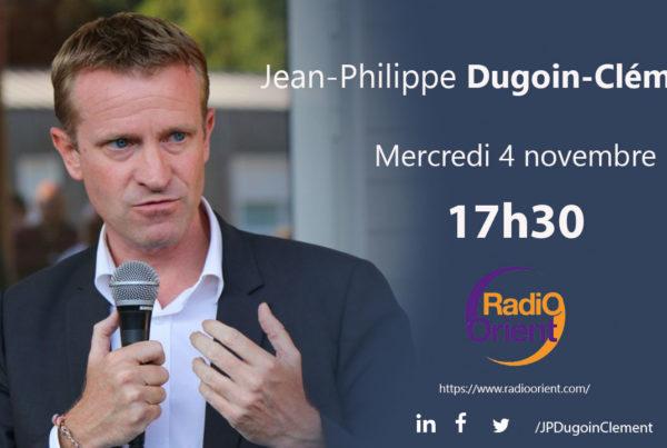 JEan Philippe Dugoin Clément, invité de Radio Orient