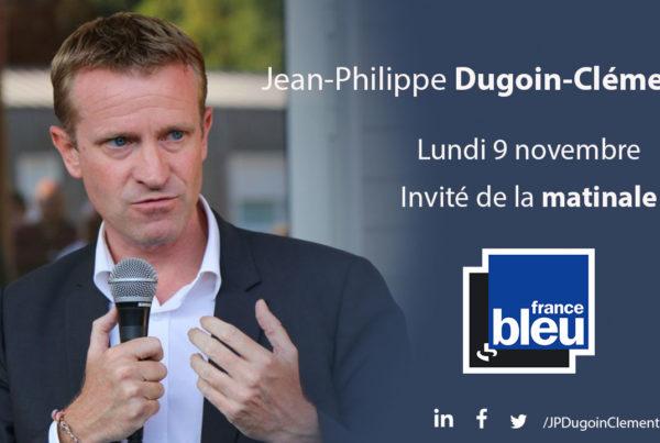 JEan-Philippe Dugoin-Clément sera l'invité de la matinale de France Bleu Paris