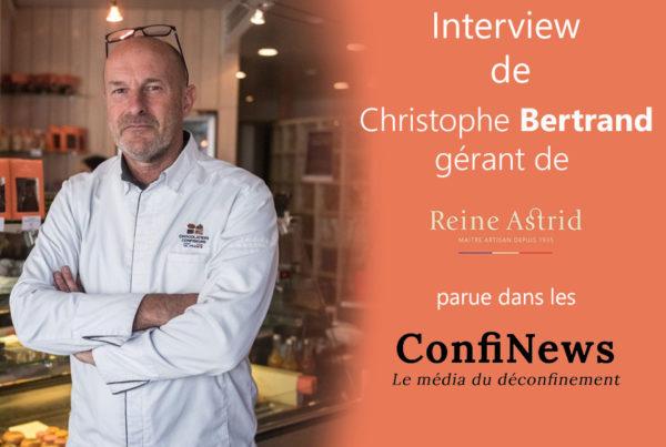 Interview de Christophe Bertrand parue dans les Confinews