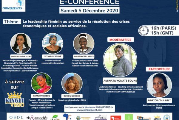 """L'agence RB & Associés est partenaire de la E-conférence sur le """"leadership féminin"""", organisée par le Think Tank Convergences"""